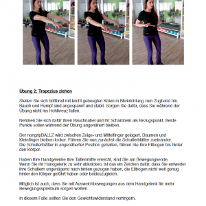 ngB Physiobegleitheft/Trainingsanleitung
