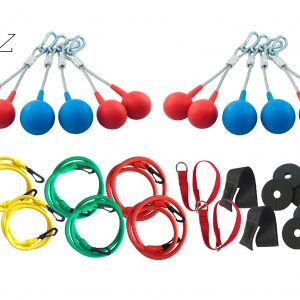 nongripBALLZ® Exclusive Personal Trainer Premium Set – Gym/Indoor/Outdoor/ for 2